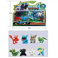 Набор игрушек с мультфильма Как приручить дракона 3 Dragons