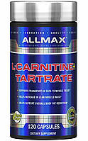 Allmax L-Carnitine L-Tartrate 120 vegan caps, фото 1