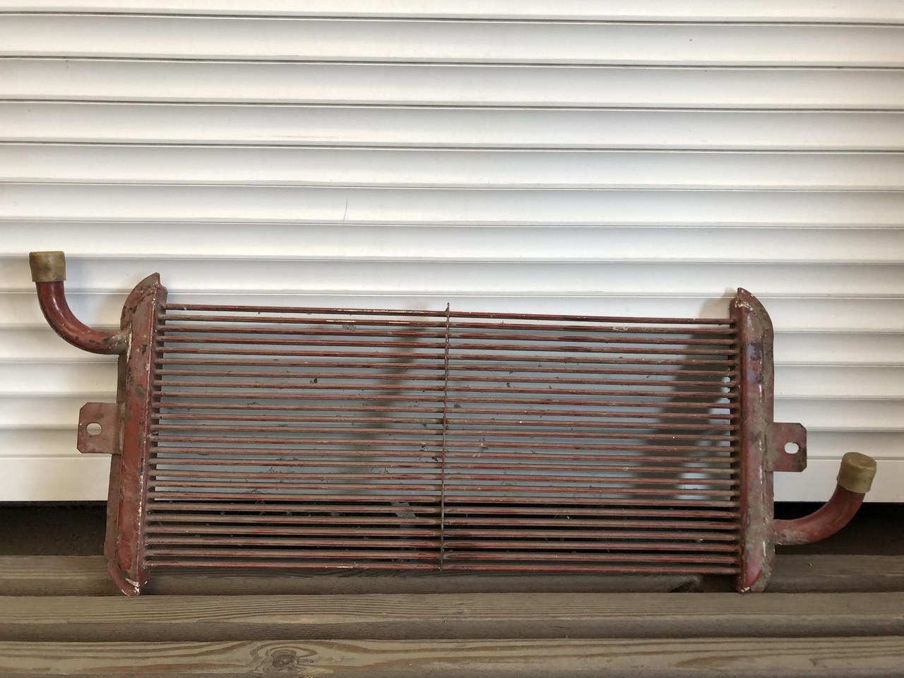 Масляный радиатор трансмисии КПП нижний для тракторов ХТЗ, Т-150, ХТЗ-17221