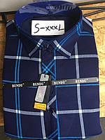 Теплая рубашка на флисе Bendu slim - 857