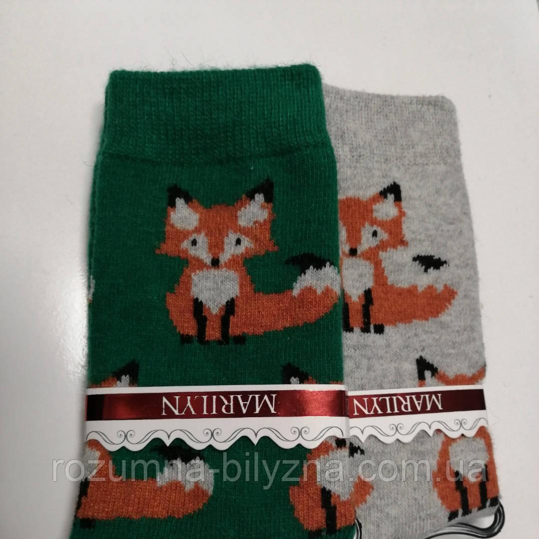 Шкарпетки жіночі, ангора, ТМ Marilyn, Польша,one size