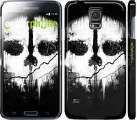 "Чехол на Samsung Galaxy S5 Duos SM G900FD Call of Duty череп ""150c-62"""