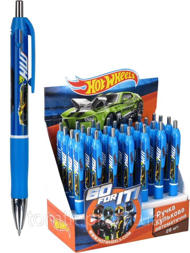 Ручка шариковая, автоматическая «Hot Wheels»