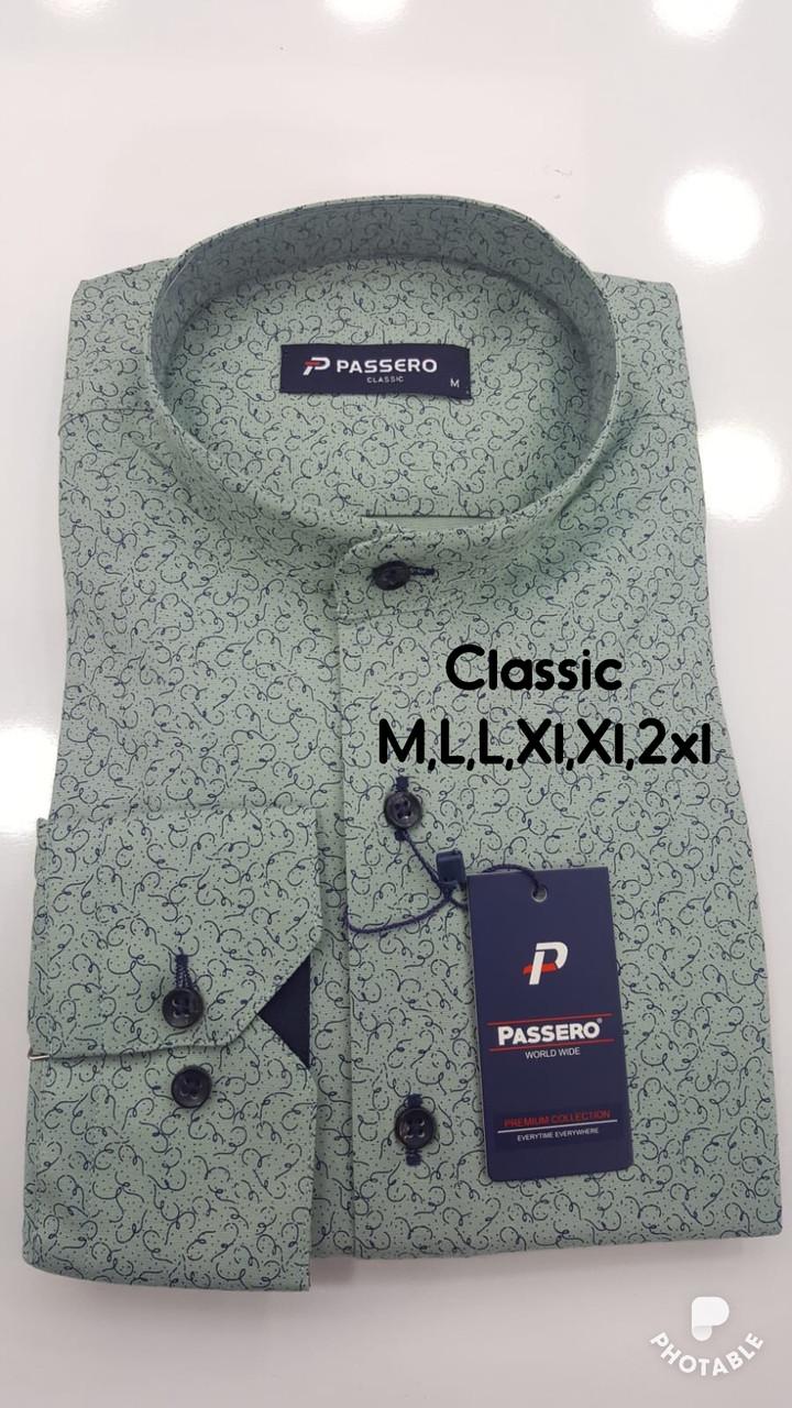Акция!!! Рубашка Passero classik стойка