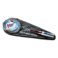 Ракетки для бадминтона/бадминтон Haotian 116: 2 ракетки, чехол