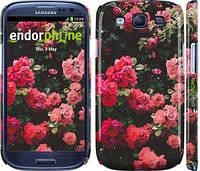 """Чехол на Samsung Galaxy S3 Duos I9300i Куст с розами """"2729c-50"""""""