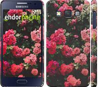 """Чехол на Samsung Galaxy A3 A300H Куст с розами """"2729c-72"""""""