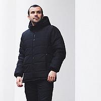 Куртка мужская теплая зимняя черная