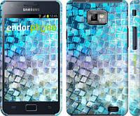 "Чехол на Samsung Galaxy S2 i9100 Переливающаяся чешуя ""227c-14"""