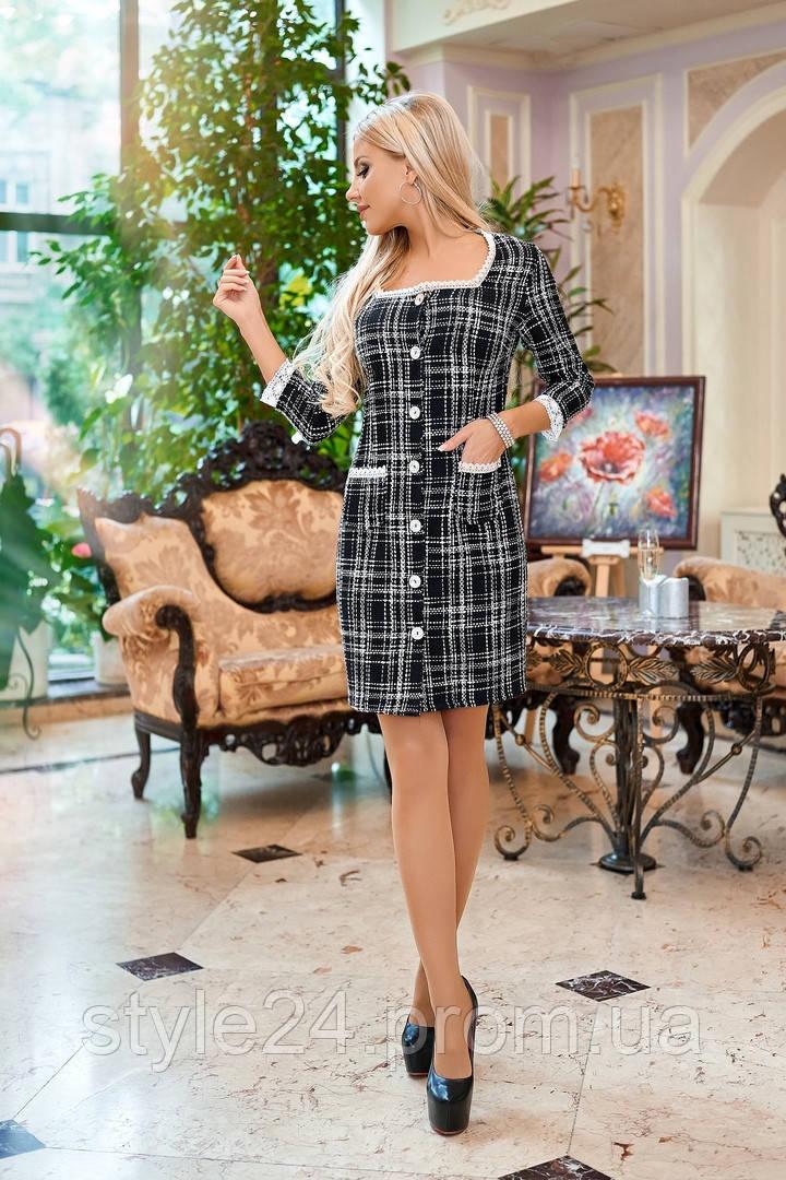 ЖІноче батальне тепле плаття з кружевом  ,2 кольори. Р-ри  50-56