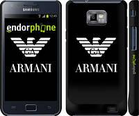 "Чехол на Samsung Galaxy S2 Plus i9105 Armani ""972c-71"""