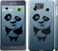 "Чехол на Samsung Galaxy Alpha G850F Кунг-фу Панда ""759c-65"""