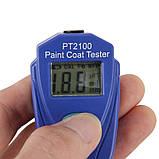 Товщиномір фарби PT2100, фото 4
