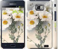 """Чехол на Samsung Galaxy S2 i9100 Raoul de Longpre. Цветы """"1973c-14"""""""