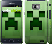 "Чехол на Samsung Galaxy S2 i9100 Minecraft 2 ""774c-14"""