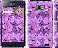 "Чехол на Samsung Galaxy S2 i9100 Принцесса Пупырка. Adventure Time. Lumpy Space Princess v3 ""1228c-14"""