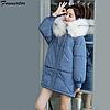 Жіноча зимова куртка з капюшоном (Е01459)