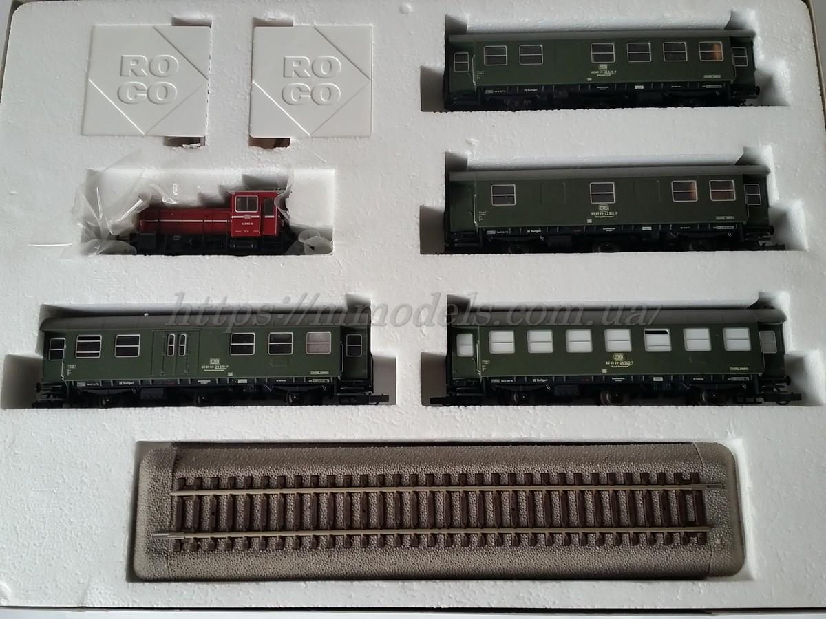 Roco 41084 комплект локомотива BR 333 4х вагонов, масштаба 1/87