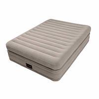 Надувная кровать Intex 64446  Встроенный Электро насос 220 В 152x203x51 см усиленная  конструкция