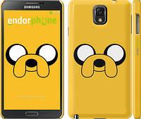 "Чехол на Samsung Galaxy Note 3 N9000 Adventure Time. Jake ""1121c-29"""