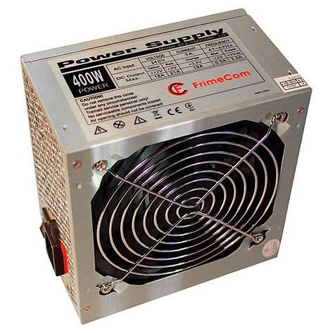 Блок питания FrimeCom SM400BL 400W, 12см, без кабеля, фото 2