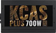 Блок питания Aerocool KCAS-700 Plus 700W; v.2.3, Fan 12см, aPFC, 80+ Bronz, фото 3