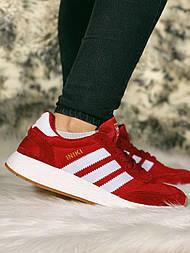 😜Кроссовки - Женские красные кроссовки Adidas