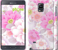 "Чехол на Samsung Galaxy Note 4 N910H Цвет яблони ""2225c-64"""