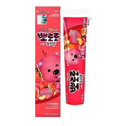 Дитяча зубна паста Персик Pororo toothpaste For Kids