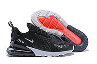 Мужские кроссовки Nike Air Max 270 Black White Черные