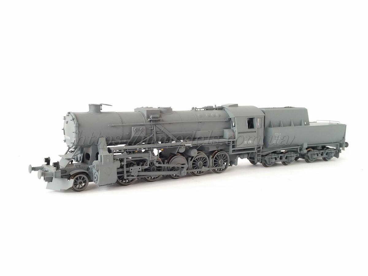 Gützold 45200 паровоз BR52 079,масштаба Н0 (1/87)
