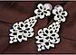 Женские нарядные серьги с кристаллами код 1725, фото 4