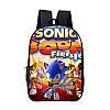 Школьный городской рюкзак  Супер Соник ( Sonic )
