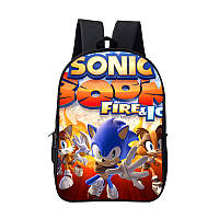 Школьный городской рюкзак  Супер Соник ( Sonic ), фото 1