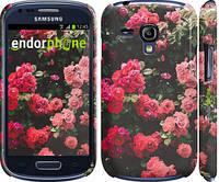 """Чехол на Samsung Galaxy S3 mini Куст с розами """"2729c-31"""""""