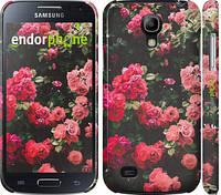 """Чехол на Samsung Galaxy S4 mini Duos GT i9192 Куст с розами """"2729c-63"""""""