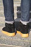 😜 Ботинки - Мужские форсы NIKE зимние на меху, фото 5