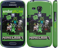 "Чехол на Samsung Galaxy S3 mini Minecraft ""773c-31"""