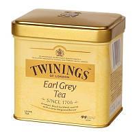 Чай черный с бергамотом Twinings Earl Grey Tea 100г, фото 1