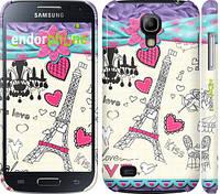 "Чехол на Samsung Galaxy S4 mini Duos GT i9192 Париж 45 ""2403c-63"""