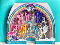 Набор детских игрушек лошадок  пони My Little Pony