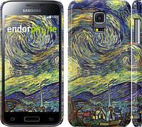 """Чехол на Samsung Galaxy S5 mini G800H Винсент Ван Гог. Звёздная ночь """"163c-44"""""""