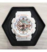 Часы CASIO G-shock GA-110 (касио джи-шок Белые) Модные, Спортивные, Мужские/ Женские годинник