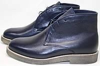 Модные ботинки мужские зимние чакка с мехом на толстой подошве Ikoc, фото 1