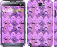 "Чехол на Samsung Galaxy Note 2 N7100 Принцесса Пупырка. Adventure Time. Lumpy Space Princess v3 ""1228c-17"""