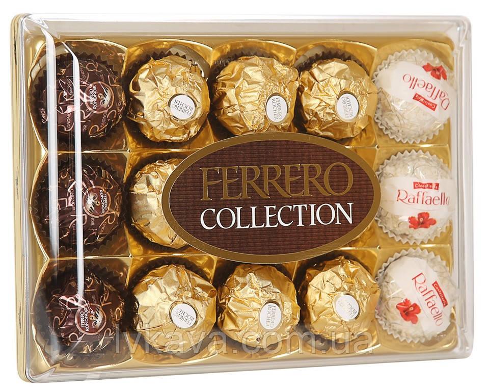 Набор шоколадных конфет Ferrero Collection , 172 гр