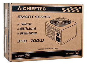 Блок Питания Chieftec GPS-650A8, ATX 2.3, APFC, 12cm fan, КПД >80%, RTL, фото 2