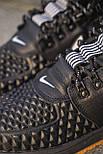 😜 Ботинки - Мужские форсы NIKE зимние на меху черные, фото 2