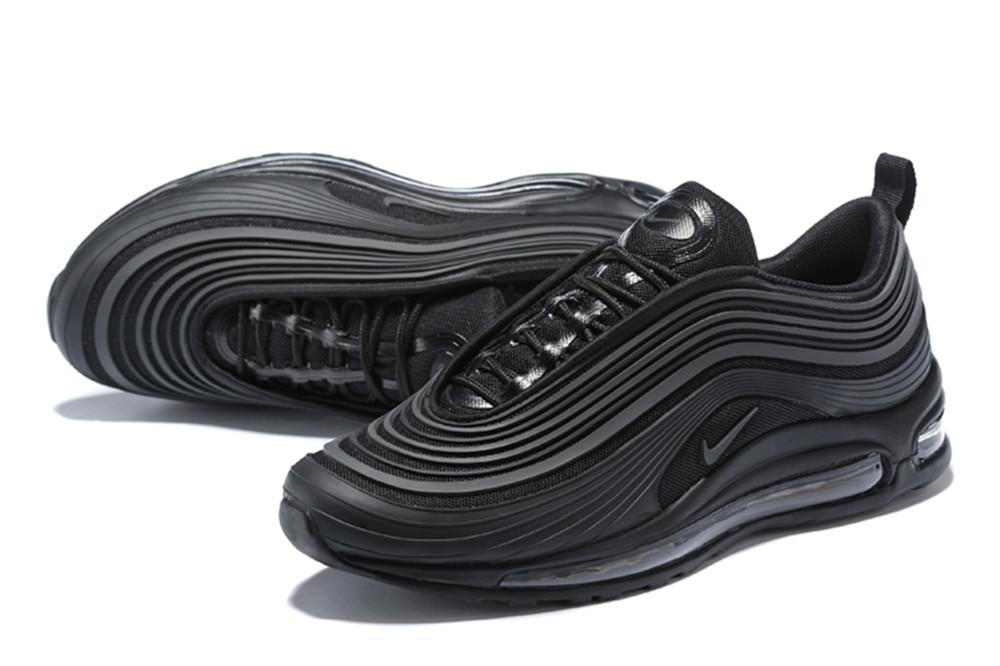 Мужские кроссовки Nike Air Max 97 Black Черные