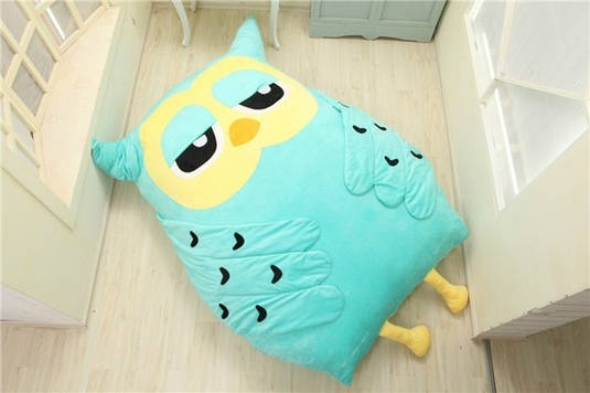 Бескаркасная кровать Сова